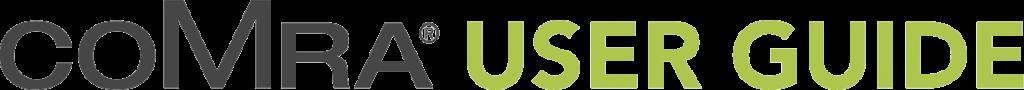 comra user guide logo